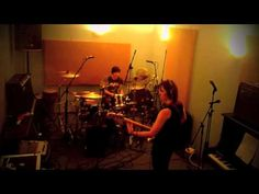 Bass & Drums Punk Jam - Victoria Smith & Killa K (Ramonas) - YouTube