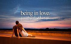 being in love #justgirlythings