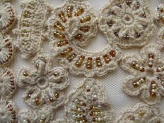 irish crochet with beads | crochet knit unlimited: Crochet with beads