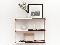 copper shelving