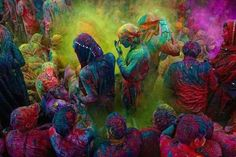 holi. festival of color. india
