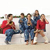Reindeer Plaid Family Flannel Sleepwear