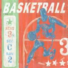 It's time to Fast break to great basketball decor for the kids room. If he, or she, loves basketball, you have found the coolest in B-ball decor....
