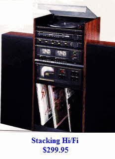 Stacking Stereo System-1980's. This thing looks a lot like my old setup!