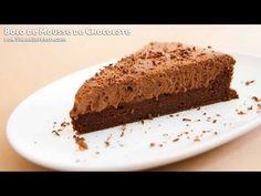 Receita de Bolo de Mousse de Chocolate
