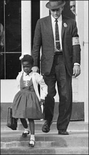 Ruby Bridges became the face of school integration at age six.