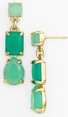 gorgeous #green drop earrings http://rstyle.me/n/msyt5r9te