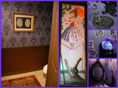Magical Disney Days: Entries from the 2014 Magical Day Awards- Becky and Jeff's Haunted Mansion bathroom