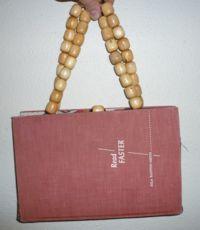 I want to make a book purse