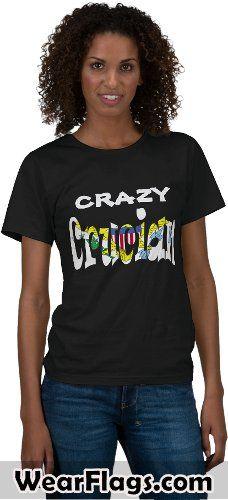 Crazy Crucian Virgin Islands Flag T-shirt, $26.95 #StCroix #VI