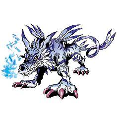 Garurumon - Champion level Beast digimon