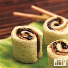 Peanut Butter and Jelly Sushi Rolls from Jif®