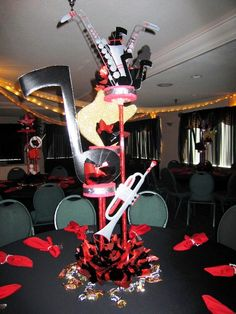 A music centerpiece from Fredda's Place.