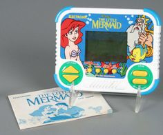 The Little Mermaid Tiger handheld.. still have this :-)