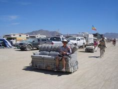What is this? Well, a sofa car.