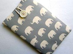 Kindle Fire sleeve - elephants!