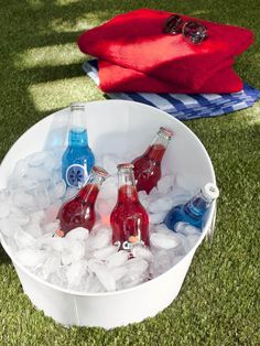 Patriotic Refreshments in Easy, Festive Fourth of July Entertaining Ideas from HGTV