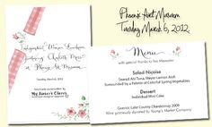 Charlotte Moss Invitation Presentation