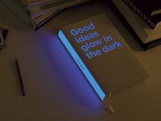 Glow in the dark book #textbooks