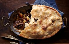 This super-luxe short rib pot pie is sure to win over your dinner guests.