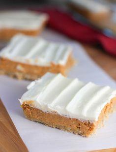 Pumpkin Cheesecake Bars!