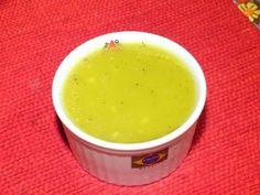 molho para salada de mostarda, limão e gengibre