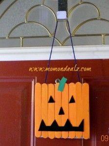 Jack-O-Lantern Door Sign