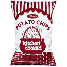 mmm, Kitchen Cooked Potato Chips. Made in Farmington,Illinois. You WILL NOT eat other chips after you have had these!