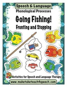 Super fun activity for remediating the phonological processes of fronting and stopping