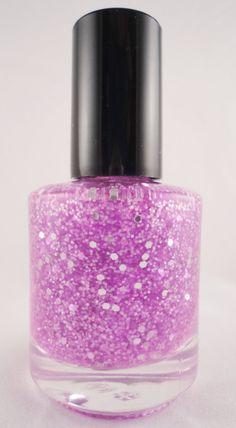 Purple Rain Nail Polish Custom-Blended Glitter - Large ...