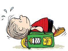 cartoon, monday, linus, backpack, snoopi, peanuts gang, peanut galleri, back to school, peanut gang
