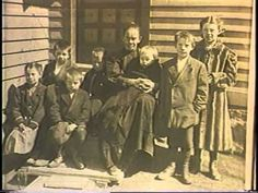 Coal mining family from Olyphant, PA