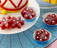 Our cranberry sauce Sugarplum Snowflake candies are so tasty that they've received ★★★★★ from Parents readers!