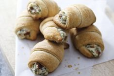 Bacon, Chive & Onion Cream Cheese and Crescent Rolls - so easy!