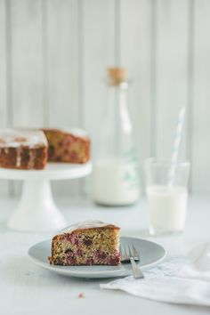 Gluten Free Raspberry and Almond Cake from @Peter G