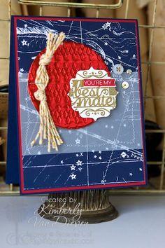 Hello Sailor stamp set, Stampin' Up!, Nautical cards Kimberly Van Diepen