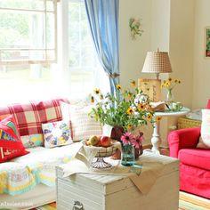 Cottage Industry  cottage living room