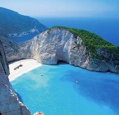 Zakynthos Shipwreck bay, Greece