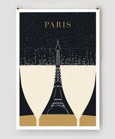 Paris Travel Posters