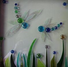 glass dragonflies