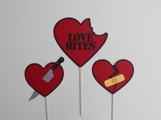 Anti-Valentine's Day Photo Booth Props