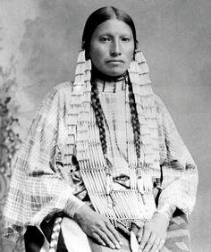 Mrs. Thunder Bear, Lakota, 1891
