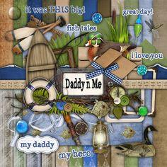 Daddy n Me - Digital Scrapbook Kit