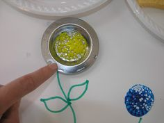 Mother's Day Flowers using Sink Strainers