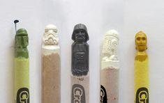 star wars and crayons
