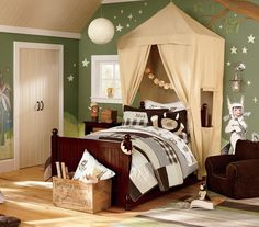 Where The Wild Things Are - Theme kids' room.