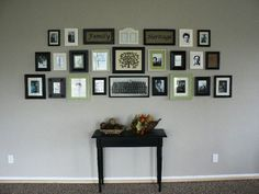 I'm wanting to do a gallery wall, and this is one with family history and meaning.