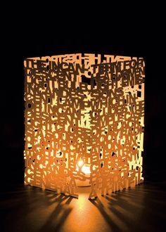 DIY Type Lamp