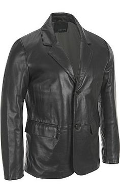 Wilsons Leather 2-Button Smooth Lamb Blazer - Wilsons Leather