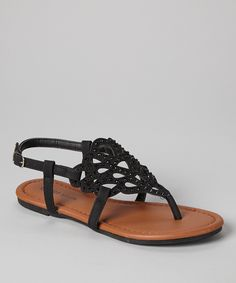 rhineston sandal, teardrop rhineston